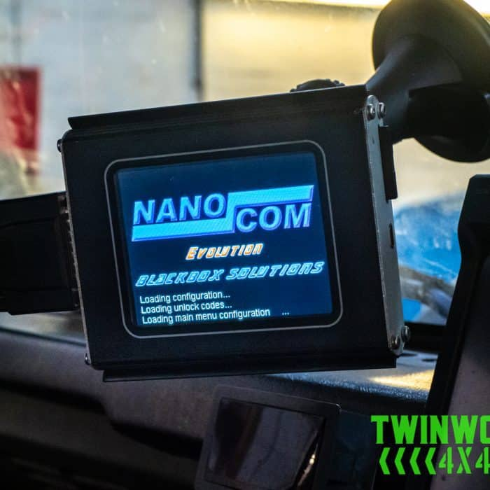 Nanocom Windscreen Mount