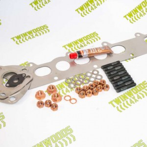 TW020 Wurth Uprated TD5 Exhaust Manifold Stud Kit with Full Fitting Kit