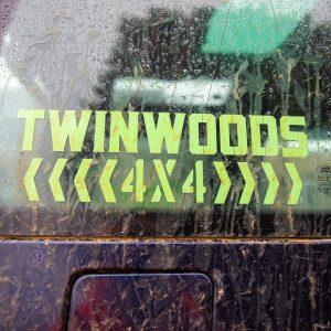 TW005 Twinwoods 4×4 Vinyl Sticker